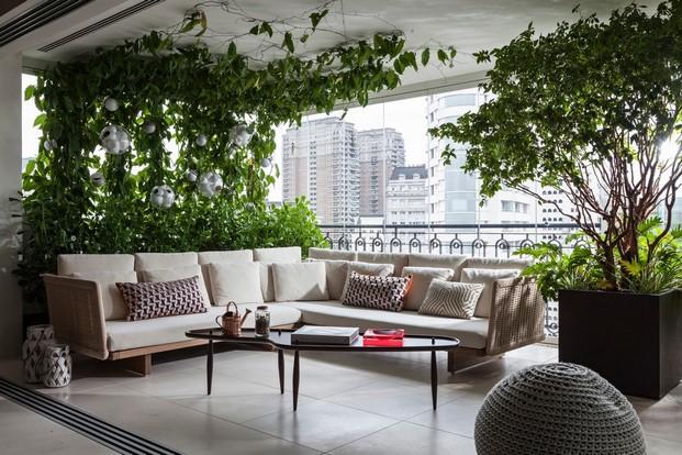 Apartamento en sao paulo de coletivo arquiteto terraza diariodesign
