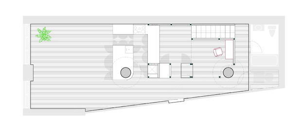 plano Bed Stuy Loft New Affiliates diariodesign