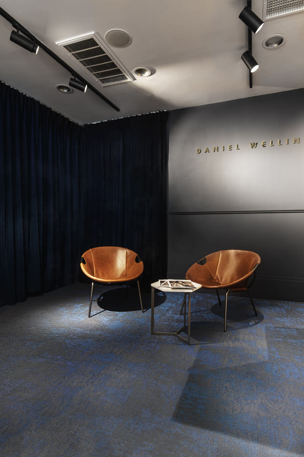 Bolon colabora con Daniel Wellington iluminacion diariodesign