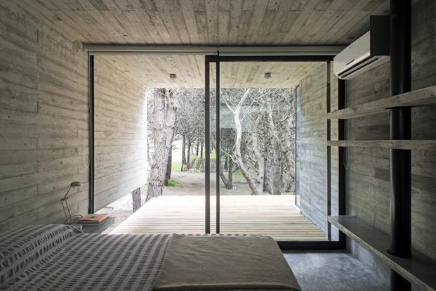 construccion en hormigon casa H3 dormitorio diariodesign