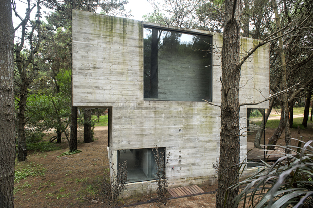 casa H3 del arquitecto Luciano kruk vista diariodesign