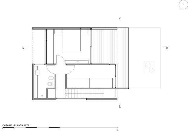 construccion en hormigon casa H3 plano diariodesign