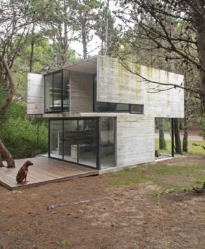 construccion en hormigon casa H3 del arquitecto Luciano kruk vista diariodesign
