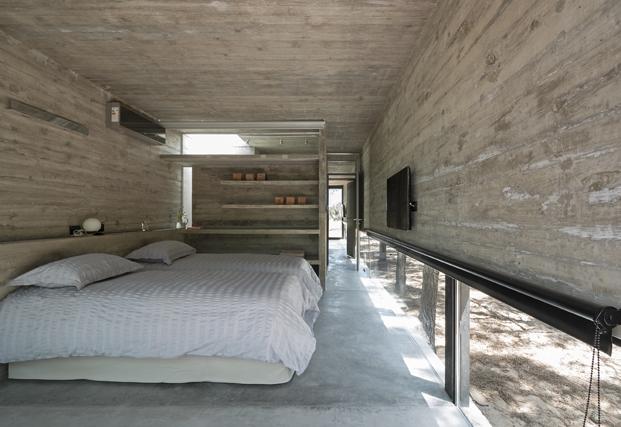 Casa L4 de Luciano Kruk vista aerea