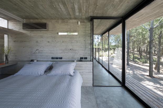 Casa L4 de Luciano Kruk dormitorio diariodesign