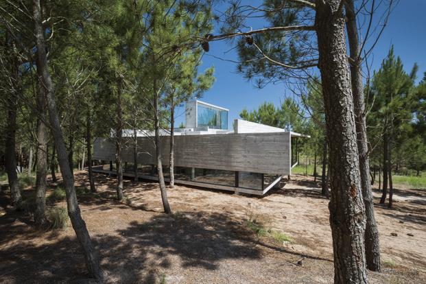 Casa L4 de Luciano Kruk vista aerea diariodesign