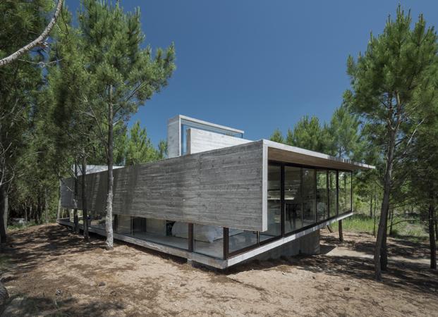 Casa L4 de Luciano Kruk casa de hormigon diariodesign