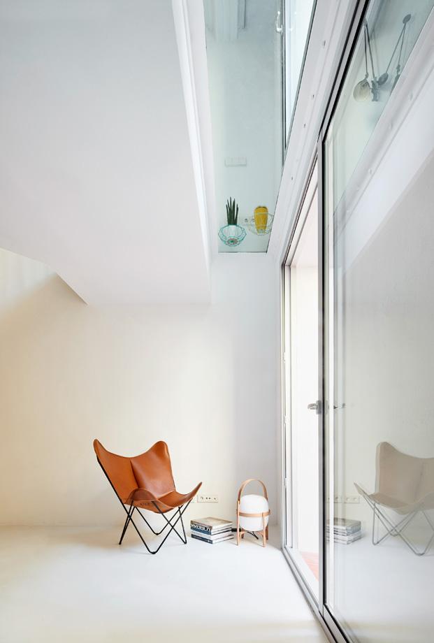 duplex en barcelona acristalamiento diariodesign