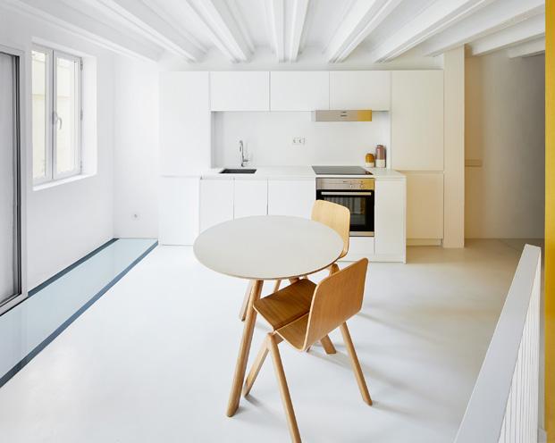 duplex en barcelona cocina diariodesign
