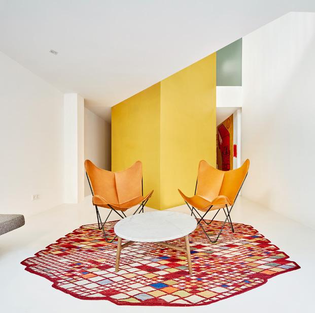 duplex en barcelona alfombra nani marquina diariodesign