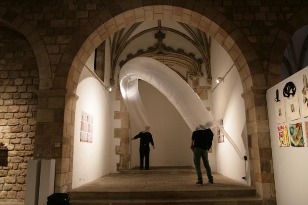 Hinchables La Galeria exposicion diariodesign