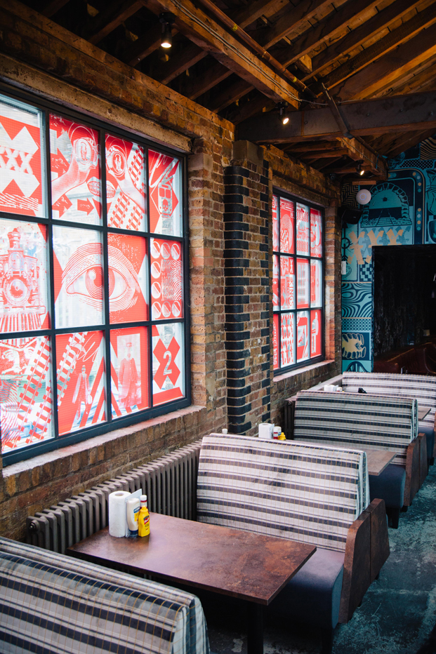 restaurante en londres MEATliquorKX vagon de tren diariodesign