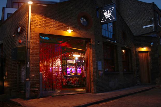 restaurante en londres MEATliquorKX fachada diariodesign