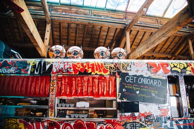 restaurante en londres MEATliquorKX grafitis diariodesign