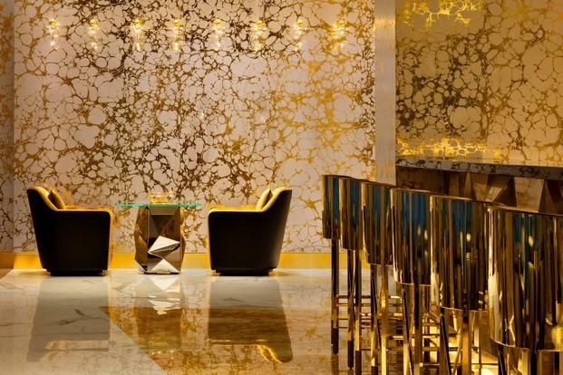 Mejor decoración de techo Gold on 27 en dubai diariodesign