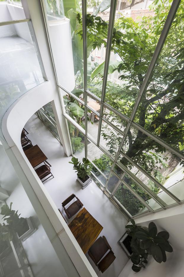 reforma vivienda T House KIENTRUCO vidrio diariodesign