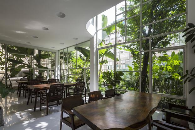 reforma vivienda T House KIENTRUCO restaurante diariodesign