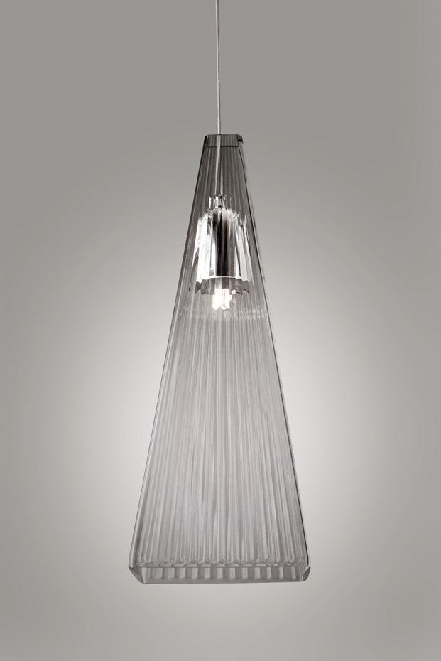 lampara para arbol de navidad de vidrio led the shard diariodesign
