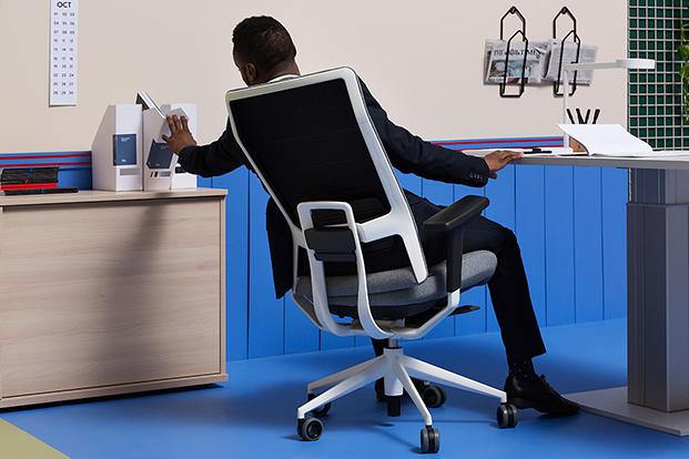 silla de oficina coolworking de actiu diariodesign