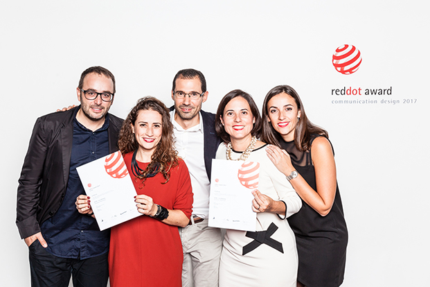 equipo actiu con premio red dot por coolworking diariodesign