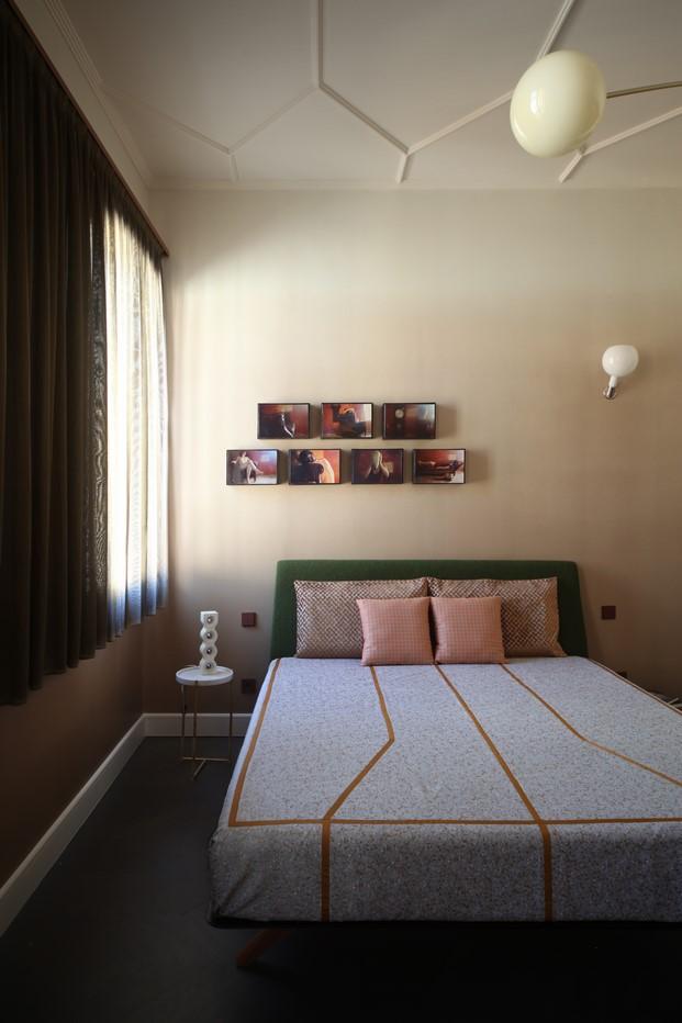dormitorio de un apartamento en venecia diariodesign