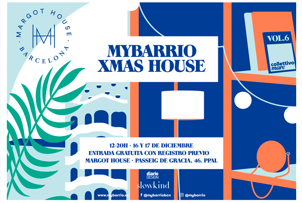 cartel mybarrio xmas house diariodesign