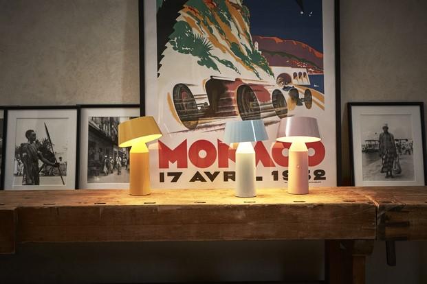 bicoca lampara marset concurso showroom diariodesign