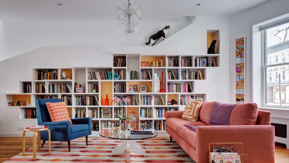 Casa para unos artistas y los gatos en Brooklyn diariodesign