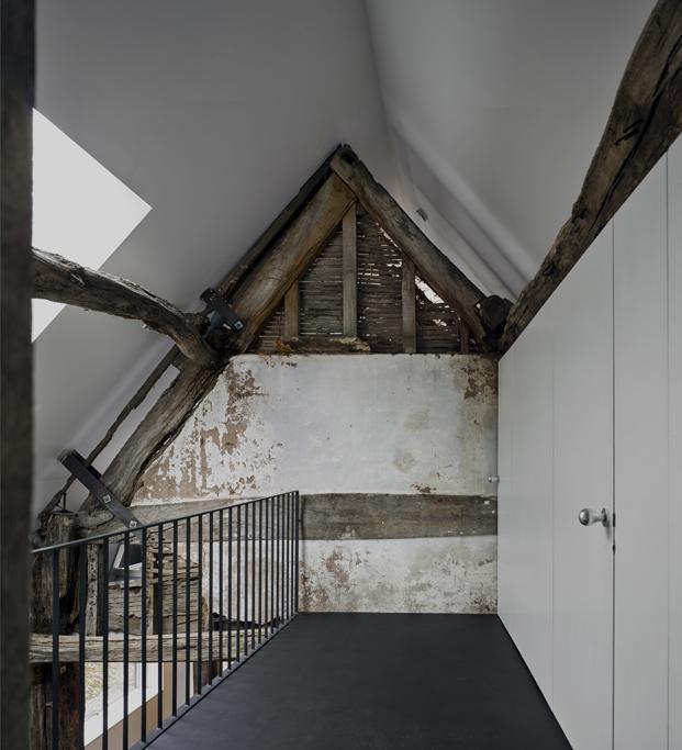 rehabilitacion croft lodge studio ruina habitada Kate darby david connor diariodesign