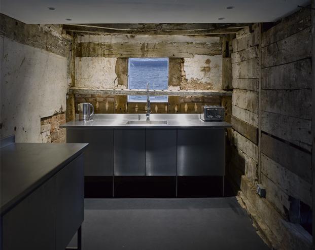 cocina croft lodge studio ruina habitada Kate darby david connor diariodesign