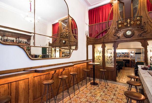 bar modernista muy buenas en el raval de barcelona diariodesign
