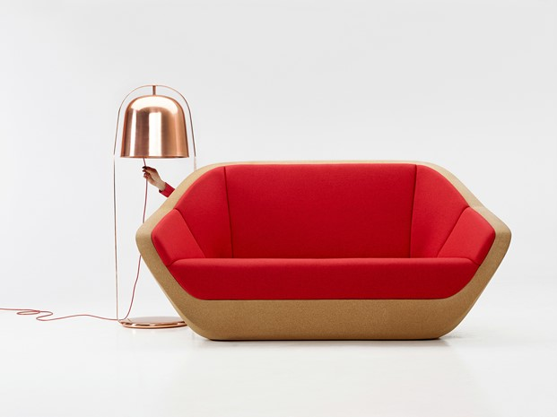 Sofa Corques y Lampara Bella de PER USE presentados en 2014 en imm colonia
