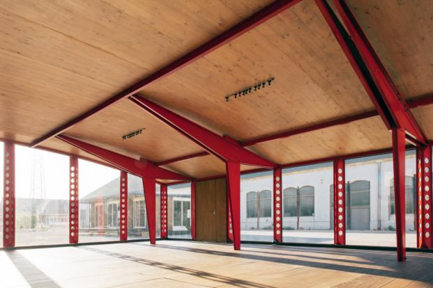 jean prouve architect exposicion for better days luma foundation arles diariodesign villejuif temporary school interior
