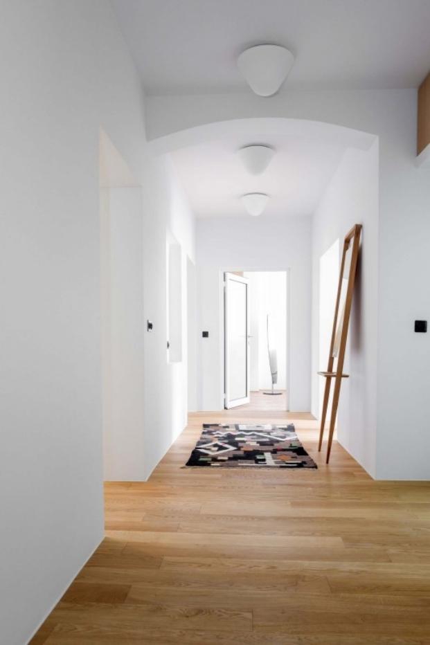 estilo vintage en una vivienda de loft kolasinski diariodesign pasillo