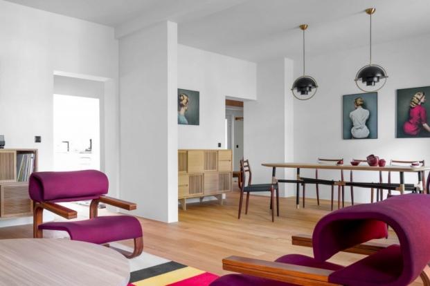 estilo vintage en una vivienda de loft kolasinski diariodesign butacas