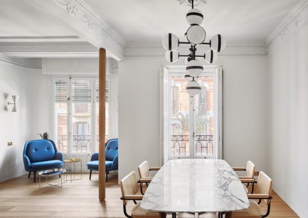 muebles contemporaneos en una reforma diariodesign comedor