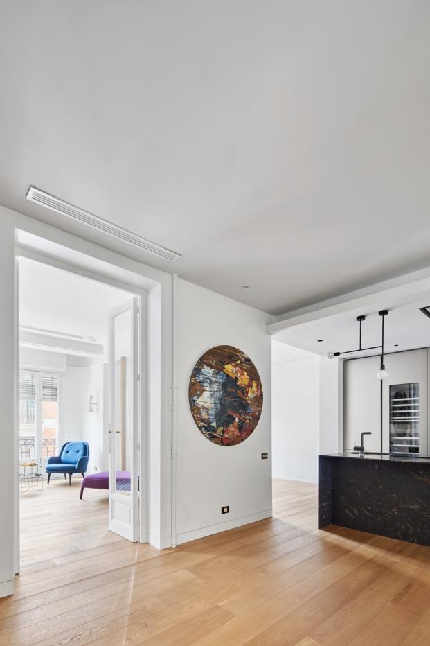 lucas hernandez gil arquitectos reforma vivienda de estilo clasico diariodesign