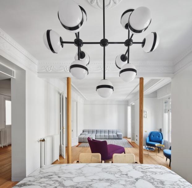vivienda reformada con muebles contemporaneos diariodesign