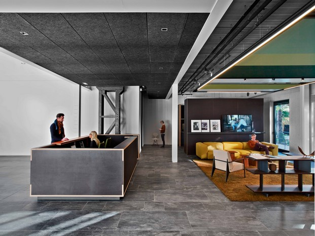 la manufacture design oficina diferente en hall paris diariodesign