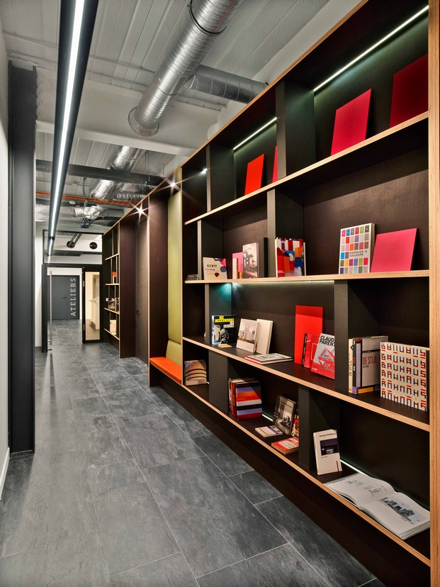la manufacture design oficina diferente en paris libreria diariodesign