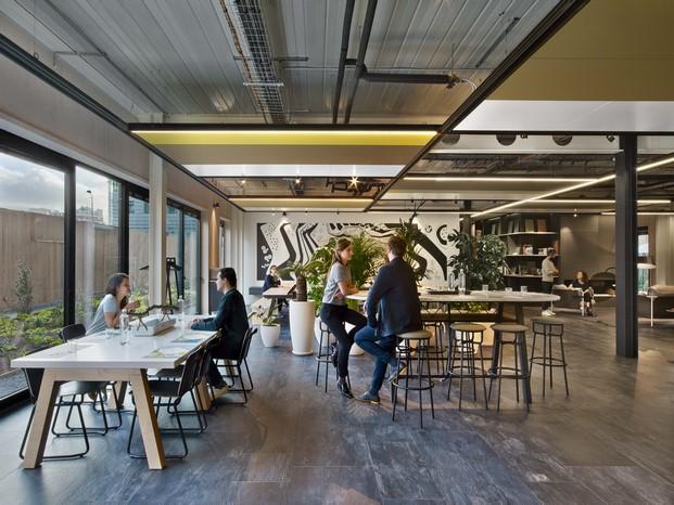 la manufacture design oficina diferente en paris area descanso diariodesign