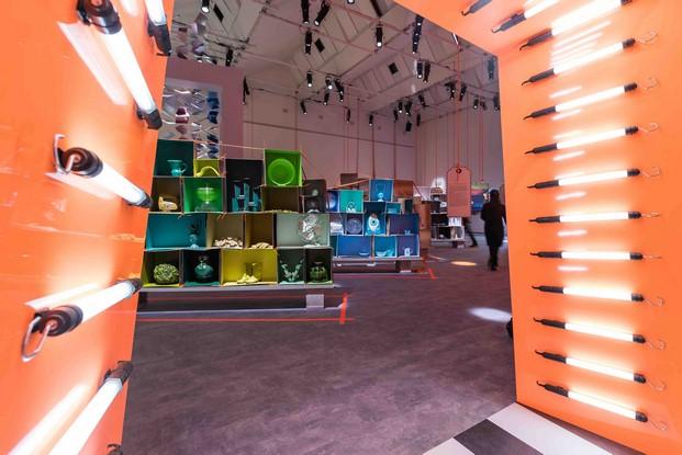 instalacion de paola navone invitada honor stockholm furniture fair diariodesign