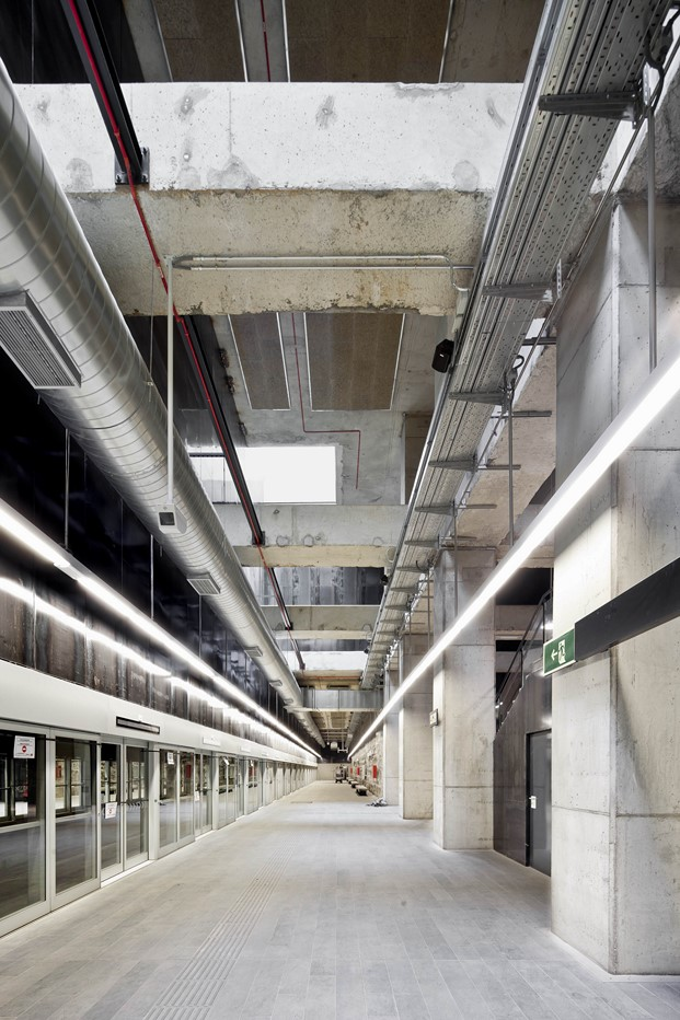 primer premio interiorismo premios ascer 2017 estacion metro barcelona diariodesign