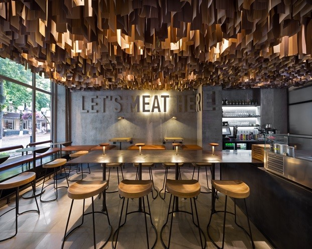 restaurant and bar design awards Shade Burger mejores bares y restaurantes del mundo diariodesign