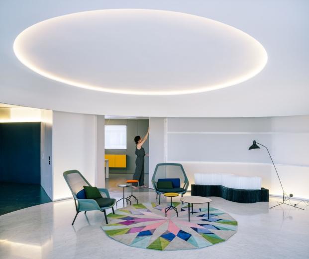 rounded piso en madrid gonzález vives arquitectura