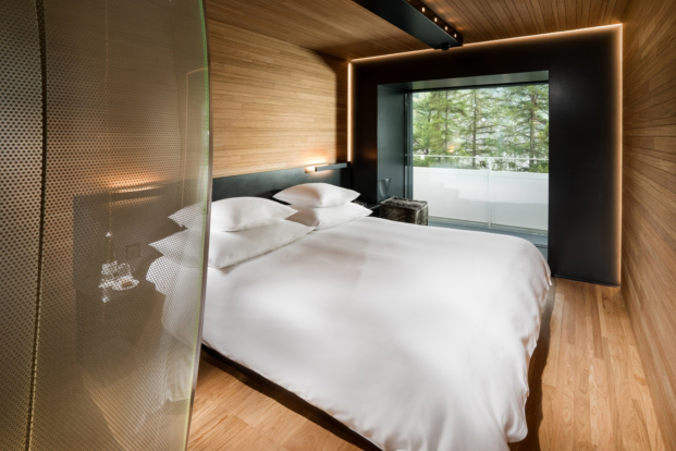 7132 hotel vals morphosis diariodesign wood room