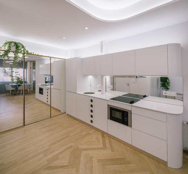 apartamentos en madrid A11 Fast Furious cocina diariodesign