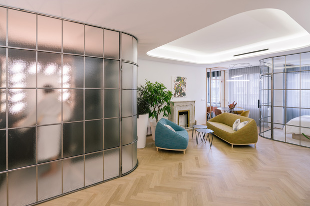 apartamentos en madrid arquitectura y cristal diariodesign