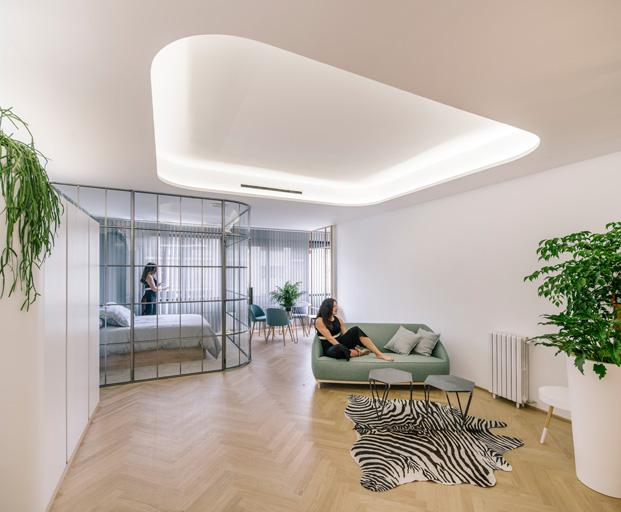 apartamentos en madrid A11 Fast Furious comedor dormitorio diariodesign