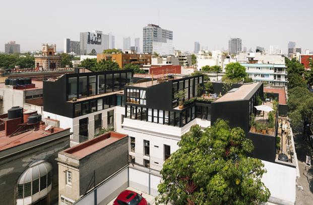 edificio en Corboba mexico de Cadaval Sola Morales diariodesign